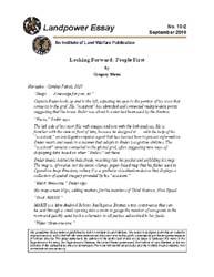 Land Warfare Paper : Essay No. 10-2 Volume Essay No. 10-2 by Motes, Gregory