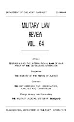 Military Law Review : April 1974 ; Volum... by Department of the Army, Headquarters