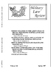 Military Law Review : April 1987 ; Volum... by Department of the Army, Headquarters