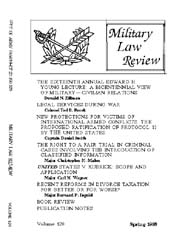 Military Law Review : April 1988 ; Volum... by Department of the Army, Headquarters