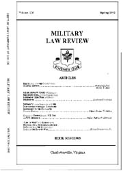 Military Law Review : April 1992 ; Volum... by Department of the Army, Headquarters