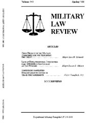 Military Law Review : April 1995 ; Volum... by Department of the Army, Headquarters