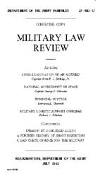 Military Law Review : July 1962 ; Volume... by Department of the Army, Headquarters