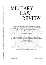 Military Law Review : July 1983 ; Volume... by Department of the Army, Headquarters