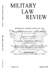 Military Law Review : July 1985 ; Volume... by Department of the Army, Headquarters