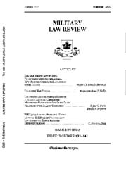 Military Law Review : July 1993 ; Volume... by Department of the Army, Headquarters