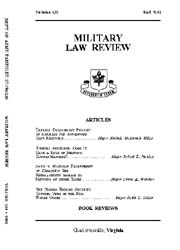 Military Law Review : October 1992 ; Vol... by Department of the Army, Headquarters