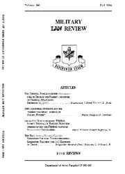 Military Law Review : October 1994 ; Vol... by Department of the Army, Headquarters