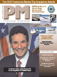 Program Manager Magazine : July-August 2... Volume July-August 2003 by Johnson, Collie
