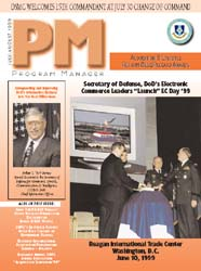 Program Manager Magazine : July-August 1... Volume July-August 1999 by Johnson, Collie