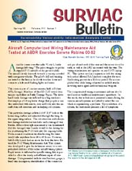 Surviac Bulletin : Spring 2000 Volume Issue 1 by Ryan, Linda