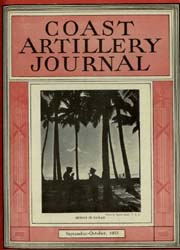 Coast Artillery Journal; September-Octob... Volume 76, Issue 5 by Bennett, E. E.