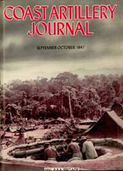 Coast Artillery Journal; September-Octob... Volume 90, Issue 5 by Bradshaw Jr., Aaron