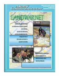 Army Communicator; Spring 2005 Volume 30, Issue 2 by Edmond, Larry