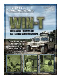 Army Communicator; Summer 2007 Volume 32, Issue 3 by Edmond, Larry
