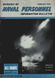 All Hands : Bureau of Naval Personnel In... Volume 23, Issue 259 by Navy Department, Bureau of Navigation