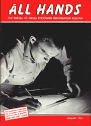 All Hands; January 1963 Volume 42, Issue 486 by Navy Department, Bureau of Navigation