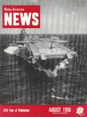 Naval Aviation News : August 1956 Volume August 1956 by U. S. Navy