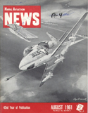 Naval Aviation News : August 1961 Volume August 1961 by U. S. Navy