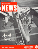 Naval Aviation News : March 1968 Volume March 1968 by U. S. Navy
