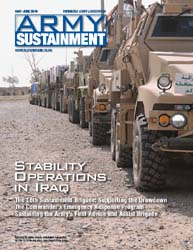 Army Sustainment; May-June 2010 Volume 42, Issue 3 by Paulus, Robert D.