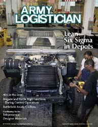 Army Logistician; November-December 2006 Volume 38, Issue 6 by Paulus, Robert D.