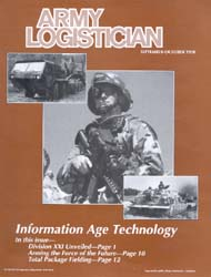 Army Logistician; September-October 1998 Volume 30, Issue 5 by Speights, Terry R.