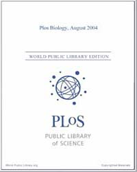 Monthly Biology Journal : Plos Biology A... Volume 2 by Bloom, Theodora