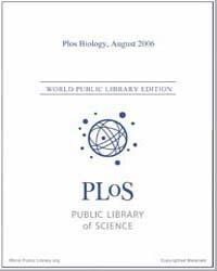 Monthly Biology Journal : Plos Biology A... Volume 4 by Bloom, Theodora