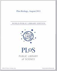 Monthly Biology Journal : Plos Biology A... Volume 9 by Bloom, Theodora