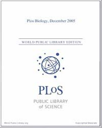 Monthly Biology Journal : Plos Biology D... Volume 3 by Bloom, Theodora
