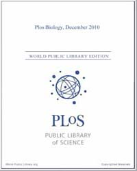 Monthly Biology Journal : Plos Biology D... Volume 8 by Bloom, Theodora
