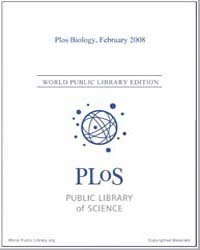 Monthly Biology Journal : Plos Biology F... Volume 6 by Bloom, Theodora
