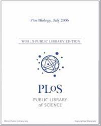 Monthly Biology Journal : Plos Biology J... Volume 4 by Bloom, Theodora