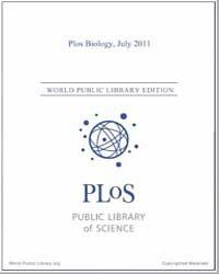 Monthly Biology Journal : Plos Biology J... Volume 9 by Bloom, Theodora