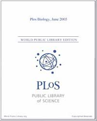 Monthly Biology Journal : Plos Biology J... Volume 3 by Bloom, Theodora