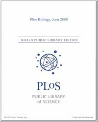 Monthly Biology Journal : Plos Biology J... Volume 6 by Bloom, Theodora