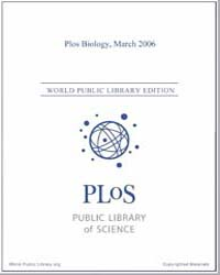Monthly Biology Journal : Plos Biology M... Volume 4 by Bloom, Theodora