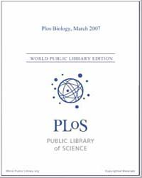 Monthly Biology Journal : Plos Biology M... Volume 5 by Bloom, Theodora
