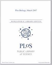 Monthly Biology Journal : Plos Biology M... Volume 5 by Bloom, Theodora