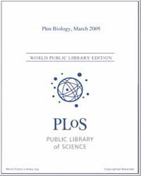 Monthly Biology Journal : Plos Biology M... Volume 7 by Bloom, Theodora