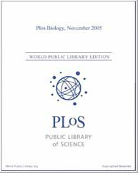 Monthly Biology Journal : Plos Biology N... Volume 3 by Bloom, Theodora