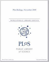Monthly Biology Journal : Plos Biology N... Volume 6 by Bloom, Theodora