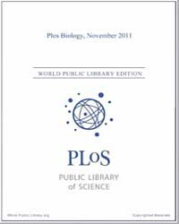 Monthly Biology Journal : Plos Biology N... Volume 9 by Bloom, Theodora