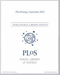 Monthly Biology Journal : Plos Biology S... Volume 2 by Bloom, Theodora