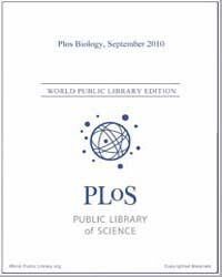 Monthly Biology Journal : Plos Biology S... Volume 8 by Bloom, Theodora