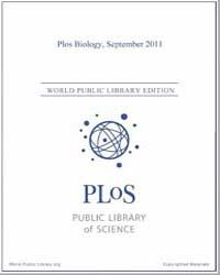 Monthly Biology Journal : Plos Biology S... Volume 9 by Bloom, Theodora