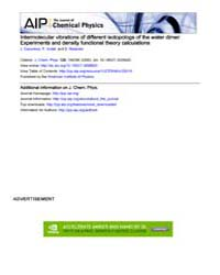 The Journal of Chemical Physics : Interm... Volume Issue : November 2008 by J. Ceponkus, P. Uvdal, and B. Nelander