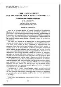 Bulletin of the World Health Organizatio... by E. J. Pampana, Dr.