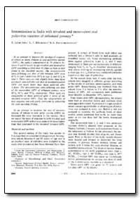Bulletin of the World Health Organizatio... by T. Jacob John